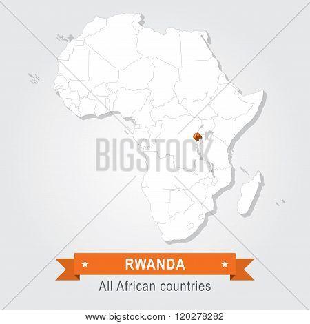 Rwanda. All the countries of Africa.