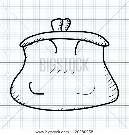 Simple Doodle Of A Purse