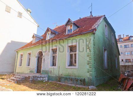 Old House In Cetinje, Montenegro