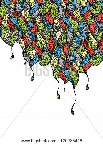 Color Drops Background.