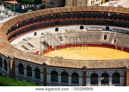 La Malagueta is the bullring Malaga, Spain