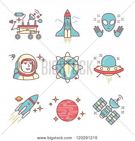 Cosmos exploration sings set