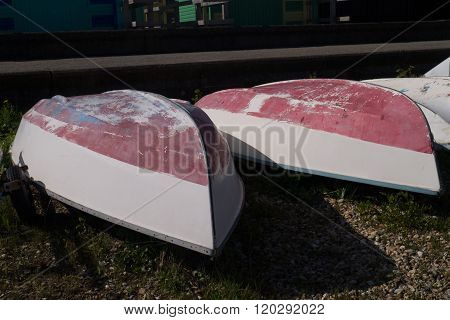Upturned Boats