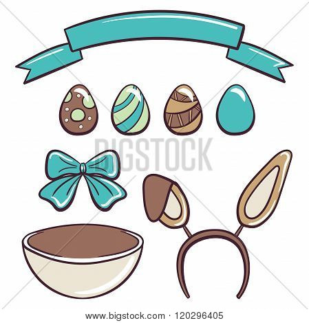 Happy Easter Day Set