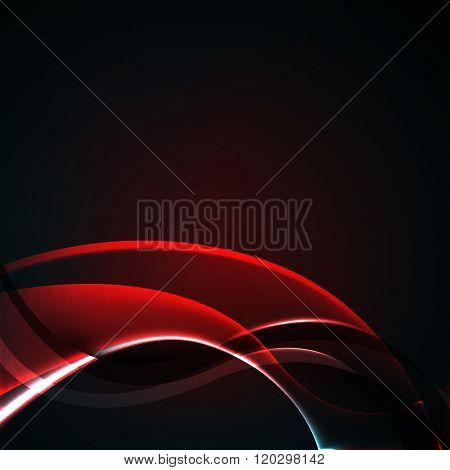abstract background luminescence wave