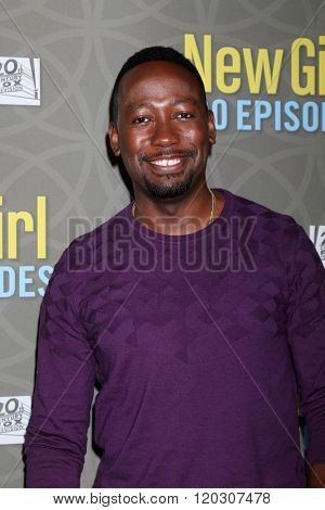 LOS ANGELES - MAR 3:  Lamorne Morris at the New Girl 100th Episode Party at the W Westwood on March 3, 2016 in Westwood, CA