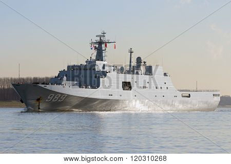 Chinese Navy Amphibious Transport Ship