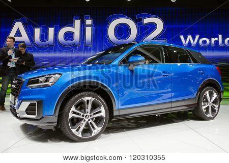 2016 Audi Q2 Crossover