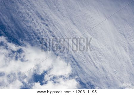 Sky as an abstract background