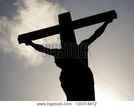 Jesus Sihouette