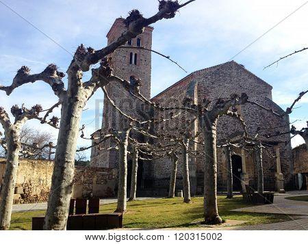 Church of Santa María del Castillo. Buitrago del Lozoya, Spain