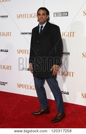 NEW YORK-OCT 27: Actor Bobby Cannavale attends the 'Spotlight' New York premiere at Ziegfeld Theatre on October 27, 2015 in New York City.