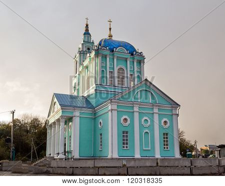 Cathedral of the Epiphany. Usman. Russia