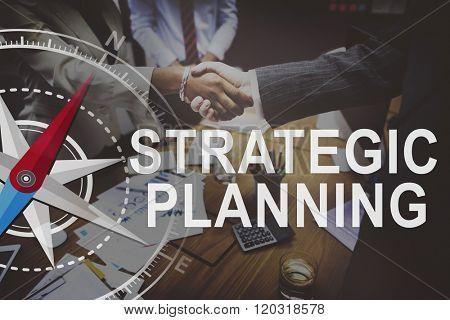 Strategic Planning Management Objective Solution Concept