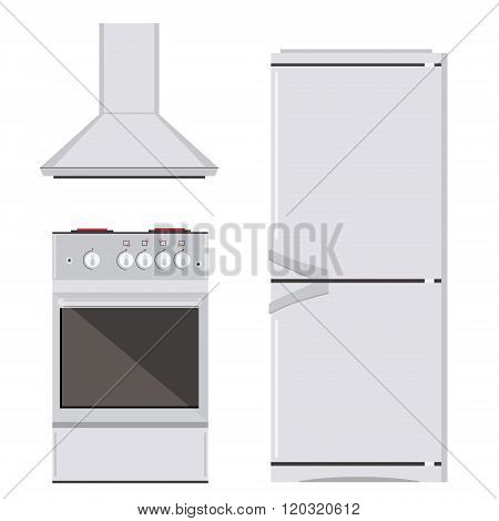 Kitchn Appliance Icon Set