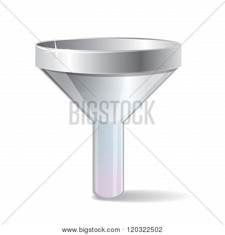Filter realistic icon