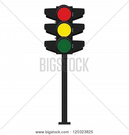 Traffic Ligths Vector