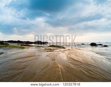 White Sand Beach - Sunset in Khao Lak