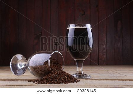 Dark Beer And Malt