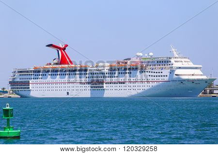 Carnival Sensation In Port Canaveral