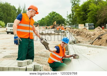 Giving Paving Stone