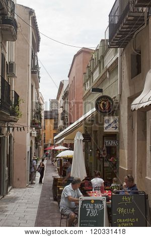 Narrow Streets Of Figueres