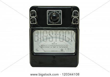 Old Soviet ampermeter