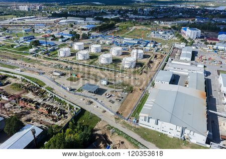 Transneft oil pumping station. Tyumen. Russia