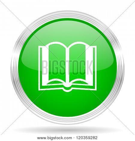 book green modern design web glossy icon