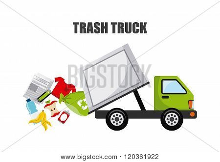 trash truck design