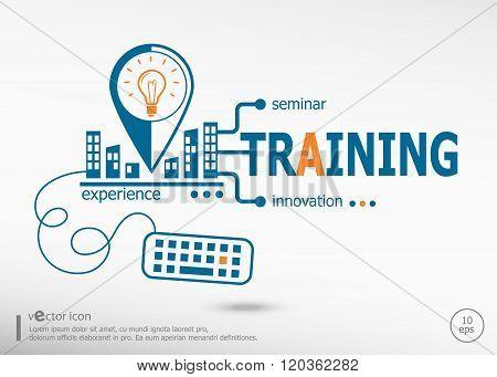 Training Concept For Application Development, Creative Process.