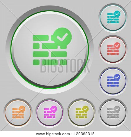 Active Firewall Push Buttons