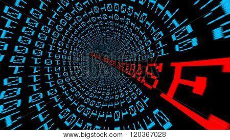 Database Server Matrix Tunnel