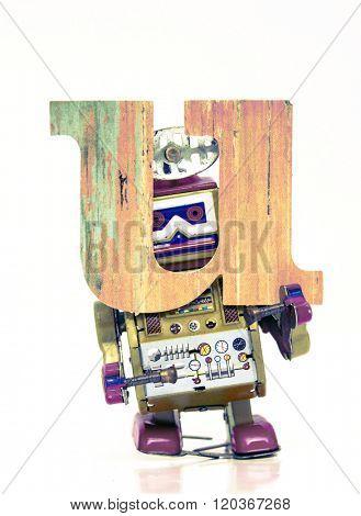 Robot letters