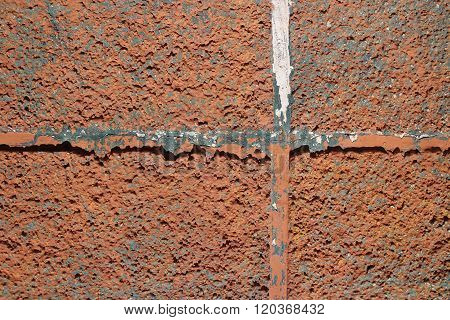 Rough Wall Texture with Cross