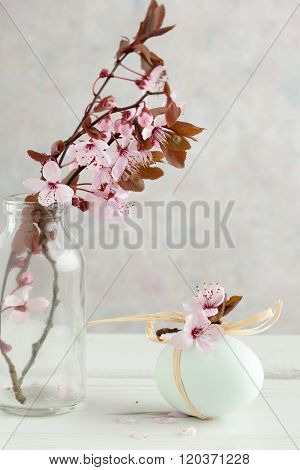 Blossom On A Tree Branch