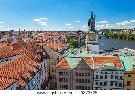 Prague City Skyline , Czech Republic