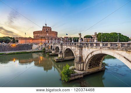 Castel Sant Angelo , Rome , Italy