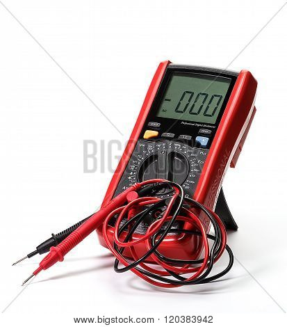 Professional electronic multimeter