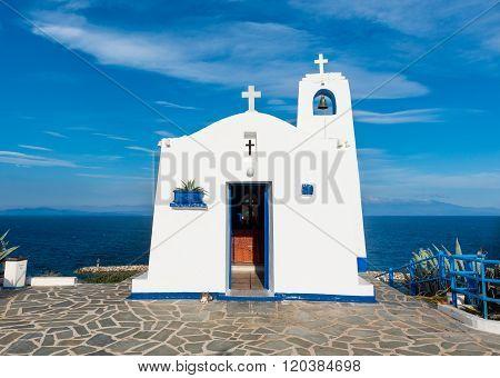 Greek small chapel