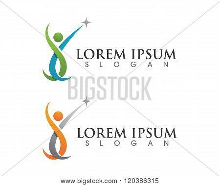 Healthy Life Logo Template