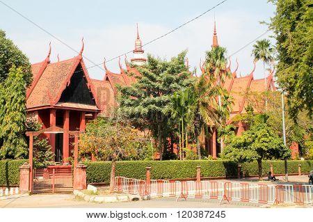 Museum Of Phnom Penh.