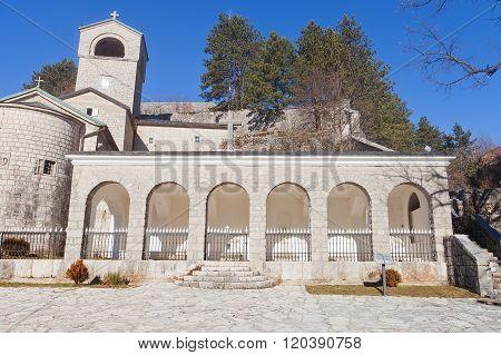 Cetinje Monastery In Cetinje, Montenegro