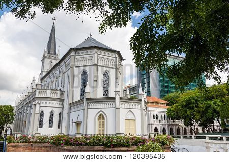 Beautiful Architecture Of Chijmes Chapel