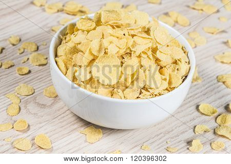 Corn Flaked Breakfast Cereal