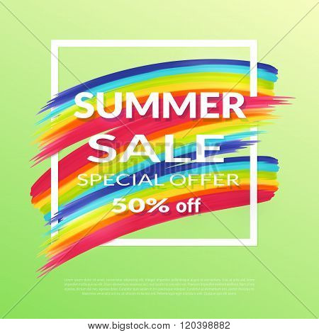 Summer Sale  Banner,
