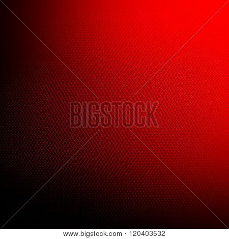 red metal mesh background