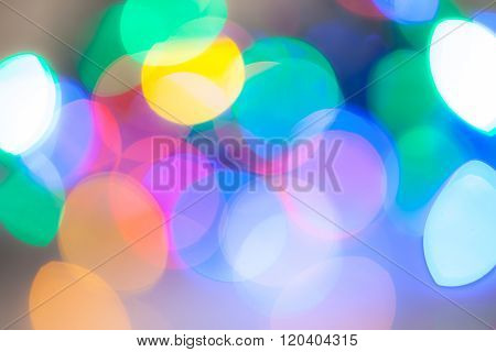 abstract colorful glare
