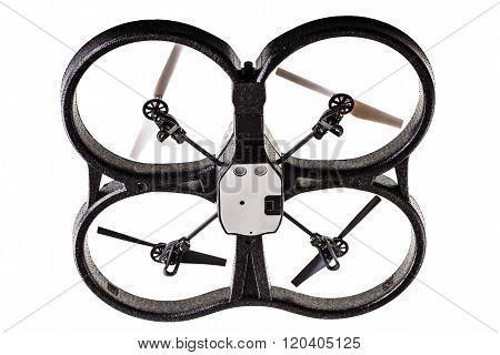 Drone Over White