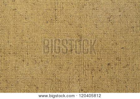 Background - green rough tarpaulin cloth. Horizontal photo